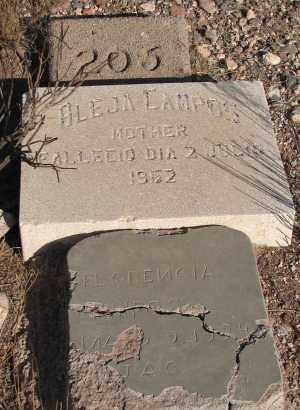 CAMPOS, ALEJA - Greenlee County, Arizona | ALEJA CAMPOS - Arizona Gravestone Photos