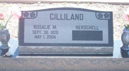 GILLILAND, ROSALIE MARTHA - Greenlee County, Arizona   ROSALIE MARTHA GILLILAND - Arizona Gravestone Photos