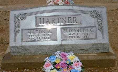 HARTNER, MILTON A. - Greenlee County, Arizona | MILTON A. HARTNER - Arizona Gravestone Photos