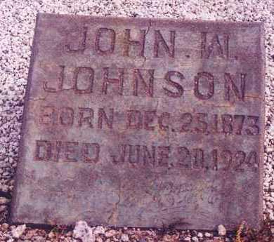 JOHNSON, JOHN WILLIS - Greenlee County, Arizona   JOHN WILLIS JOHNSON - Arizona Gravestone Photos