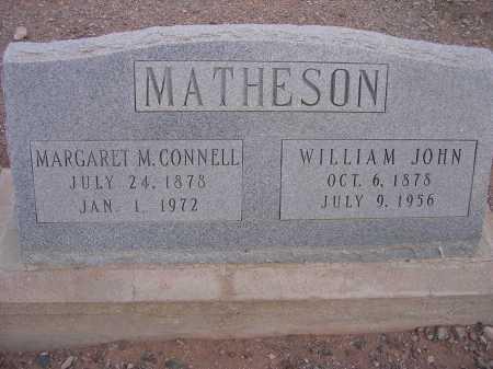 MATHESON, MARGARET - Greenlee County, Arizona | MARGARET MATHESON - Arizona Gravestone Photos