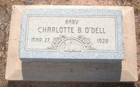 O'DELL, CHARLOTTE B. - Greenlee County, Arizona | CHARLOTTE B. O'DELL - Arizona Gravestone Photos