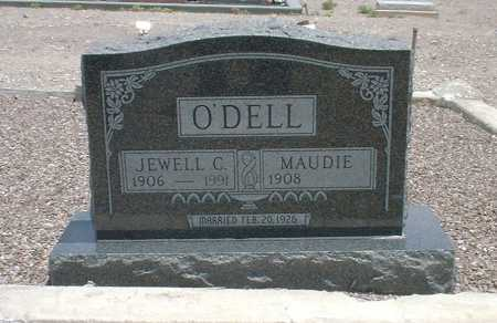 O'DELL, JEWELL CLEANON - Greenlee County, Arizona | JEWELL CLEANON O'DELL - Arizona Gravestone Photos