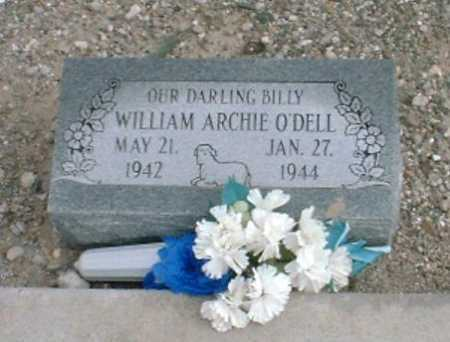 O'DELL, WILLIAM ARCHIE - Greenlee County, Arizona | WILLIAM ARCHIE O'DELL - Arizona Gravestone Photos