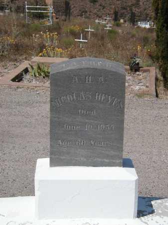 REYES, NICOLAS - Greenlee County, Arizona | NICOLAS REYES - Arizona Gravestone Photos