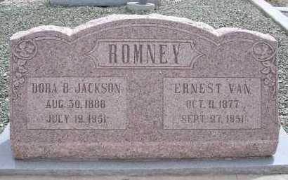ROMNEY, DORA B. - Greenlee County, Arizona | DORA B. ROMNEY - Arizona Gravestone Photos