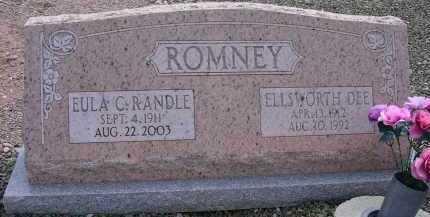 ROMNEY, EULA C. - Greenlee County, Arizona | EULA C. ROMNEY - Arizona Gravestone Photos