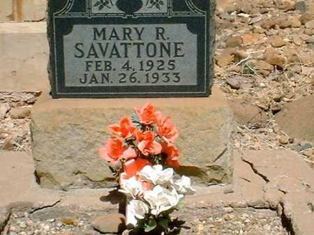 SAVATTONE, MARY R. - Greenlee County, Arizona | MARY R. SAVATTONE - Arizona Gravestone Photos