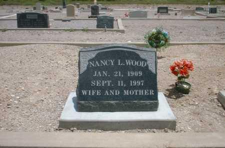 WOOD, NANCY L. - Greenlee County, Arizona   NANCY L. WOOD - Arizona Gravestone Photos