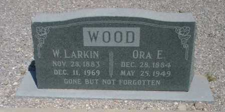 WOOD, ORA EMMA - Greenlee County, Arizona | ORA EMMA WOOD - Arizona Gravestone Photos