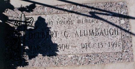 ALUMBAUGH, DELBERT C. - La Paz County, Arizona | DELBERT C. ALUMBAUGH - Arizona Gravestone Photos