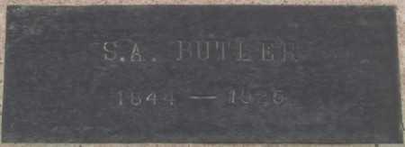 BUTLER, S. A. - La Paz County, Arizona | S. A. BUTLER - Arizona Gravestone Photos