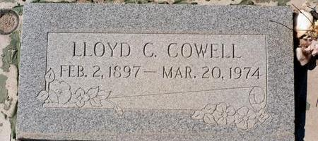COWELL, LLOYD C. - La Paz County, Arizona | LLOYD C. COWELL - Arizona Gravestone Photos