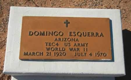 ESQUERRA, DOMINGO - La Paz County, Arizona | DOMINGO ESQUERRA - Arizona Gravestone Photos