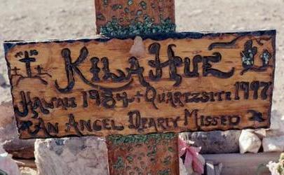 HUE, KILA - La Paz County, Arizona | KILA HUE - Arizona Gravestone Photos