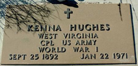 HUGHES, KENNA - La Paz County, Arizona   KENNA HUGHES - Arizona Gravestone Photos
