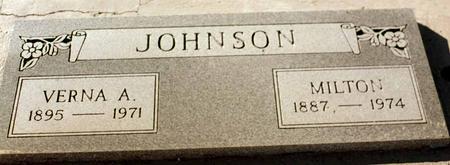 JOHNSON, VERNA A. - La Paz County, Arizona | VERNA A. JOHNSON - Arizona Gravestone Photos