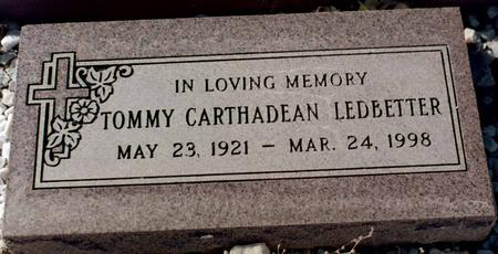 LEDBETTER, TOMMY CARTHADEAN - La Paz County, Arizona | TOMMY CARTHADEAN LEDBETTER - Arizona Gravestone Photos