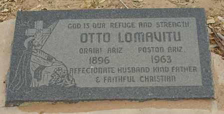 LOMAVITU, OTTO - La Paz County, Arizona | OTTO LOMAVITU - Arizona Gravestone Photos