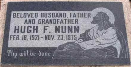 NUNN, HUGH F. - La Paz County, Arizona | HUGH F. NUNN - Arizona Gravestone Photos