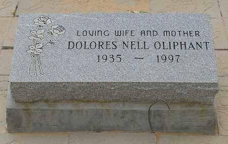 NELL OLIPHANT, DOLORES - La Paz County, Arizona | DOLORES NELL OLIPHANT - Arizona Gravestone Photos