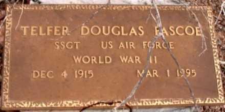 PASCOE, TELFER DOUGLAS - La Paz County, Arizona | TELFER DOUGLAS PASCOE - Arizona Gravestone Photos