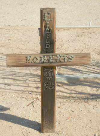 "ROBERTS, E.I. ""BUD"" - La Paz County, Arizona | E.I. ""BUD"" ROBERTS - Arizona Gravestone Photos"