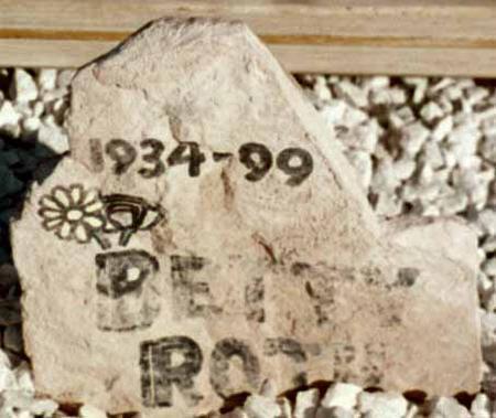ROTH, BETTY - La Paz County, Arizona | BETTY ROTH - Arizona Gravestone Photos