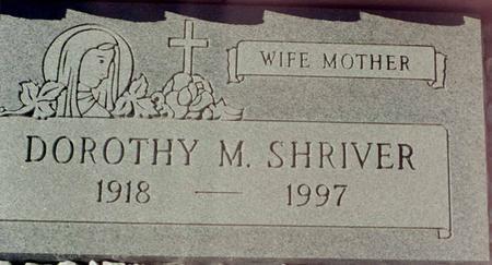 SHRIVER, DOROTHY M. - La Paz County, Arizona | DOROTHY M. SHRIVER - Arizona Gravestone Photos