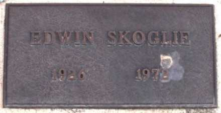 SKOGLIE, EDWIN - La Paz County, Arizona | EDWIN SKOGLIE - Arizona Gravestone Photos