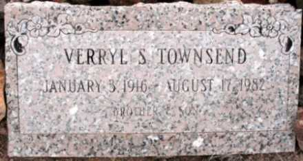 TOWNSEND, VERRYL S - La Paz County, Arizona | VERRYL S TOWNSEND - Arizona Gravestone Photos