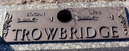 TROWBRIDGE, OPAL - La Paz County, Arizona   OPAL TROWBRIDGE - Arizona Gravestone Photos
