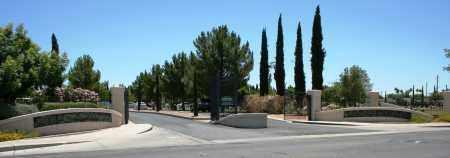 *ENTRANCE WEST, CITY OF MESA CEM - Maricopa County, Arizona | CITY OF MESA CEM *ENTRANCE WEST - Arizona Gravestone Photos