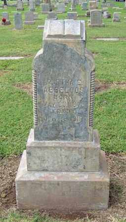ABBELOOS, MARTHA E. - Maricopa County, Arizona | MARTHA E. ABBELOOS - Arizona Gravestone Photos