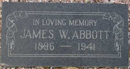 ABBOTT, JAMES W. - Maricopa County, Arizona | JAMES W. ABBOTT - Arizona Gravestone Photos