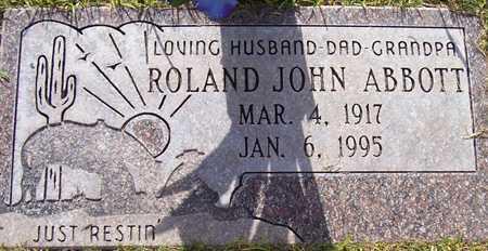 ABBOTT, ROLAND JOHN - Maricopa County, Arizona | ROLAND JOHN ABBOTT - Arizona Gravestone Photos