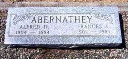 ABERNATHEY, ALFRED D. - Maricopa County, Arizona   ALFRED D. ABERNATHEY - Arizona Gravestone Photos