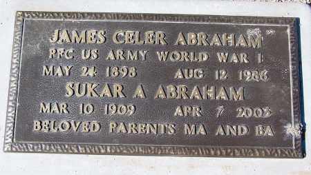 ABRAHAM, SUKAR A. - Maricopa County, Arizona | SUKAR A. ABRAHAM - Arizona Gravestone Photos