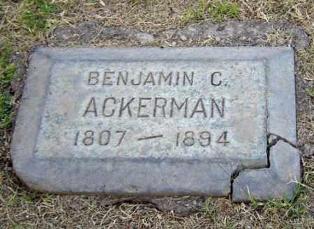 ACKERMAN, BENJAMIN - Maricopa County, Arizona | BENJAMIN ACKERMAN - Arizona Gravestone Photos