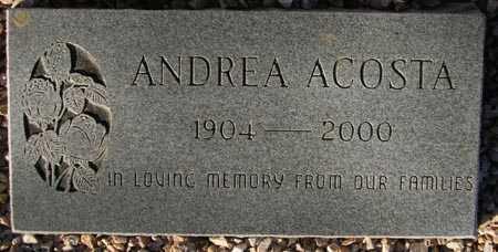 ACOSTA, ANDREA - Maricopa County, Arizona   ANDREA ACOSTA - Arizona Gravestone Photos