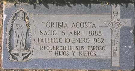 ACOSTA, TORIBIA - Maricopa County, Arizona | TORIBIA ACOSTA - Arizona Gravestone Photos