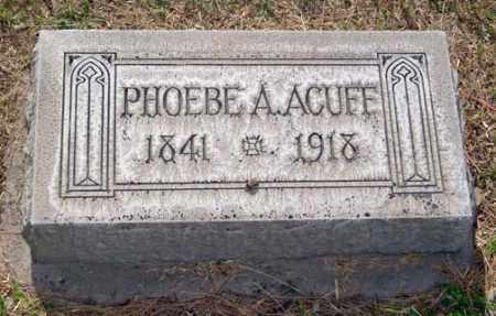 MATTHEWS ACUFF, PHOEBE ANN - Maricopa County, Arizona | PHOEBE ANN MATTHEWS ACUFF - Arizona Gravestone Photos