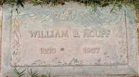 ACUFF, WILLIAM B. - Maricopa County, Arizona   WILLIAM B. ACUFF - Arizona Gravestone Photos
