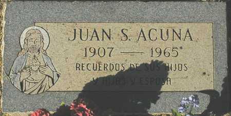 ACUNA, JUAN S. - Maricopa County, Arizona | JUAN S. ACUNA - Arizona Gravestone Photos
