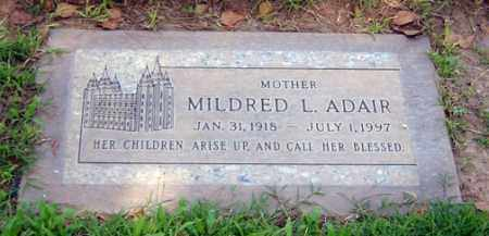LILLY ADAIR, MILDRED - Maricopa County, Arizona | MILDRED LILLY ADAIR - Arizona Gravestone Photos