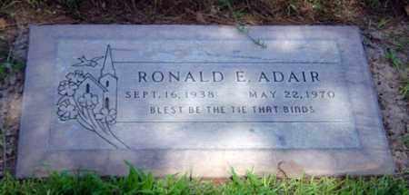ADAIR, RONALD EDWARD - Maricopa County, Arizona | RONALD EDWARD ADAIR - Arizona Gravestone Photos