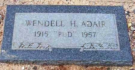 ADAIR, WENDELL HERBERT (PUD) - Maricopa County, Arizona | WENDELL HERBERT (PUD) ADAIR - Arizona Gravestone Photos