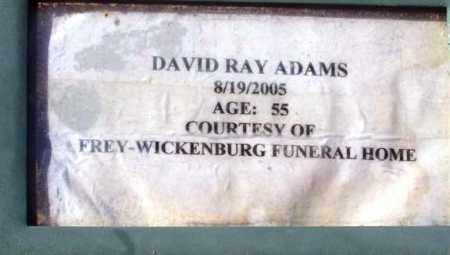 ADAMS, DAVID RAY - Maricopa County, Arizona | DAVID RAY ADAMS - Arizona Gravestone Photos