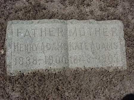 ADAMS, HENRY - Maricopa County, Arizona | HENRY ADAMS - Arizona Gravestone Photos