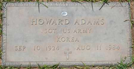 ADAMS, HOWARD - Maricopa County, Arizona | HOWARD ADAMS - Arizona Gravestone Photos
